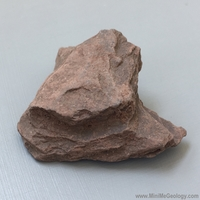 Image Slate Metamorphic Rock - Red