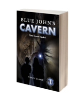 Image Blue John's Cavern: Time Travel Rocks! (Crystal Cave Adventures Book #1)