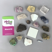 Image Mineral Madness - Mineral Collection Kit