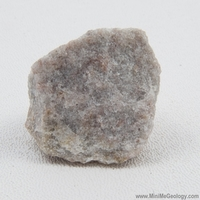 Image Quartzite Metamorphic Rock - White/Gray