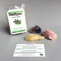 GeoBytes Quartz Types Mineral Kit