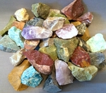 Bulk Rough & Tumbled Stones