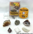 Crystal Geometry Rock Detectives Kit with eBook