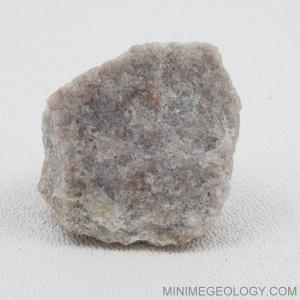 Quartzite Metamorphic Rock - White/Gray